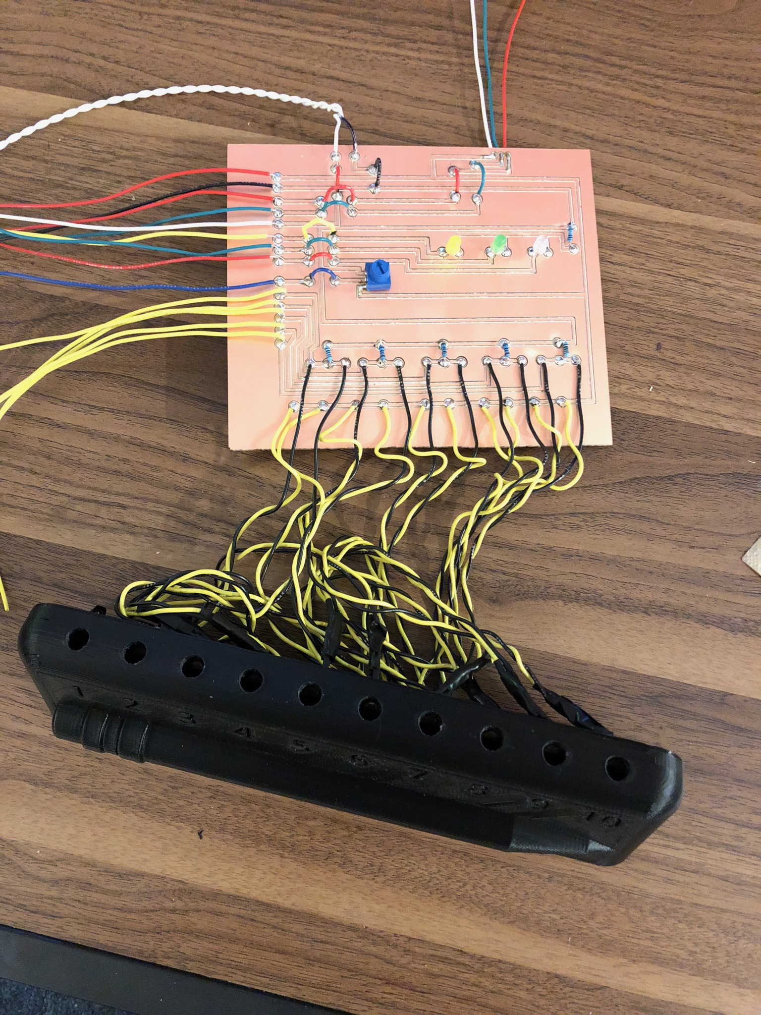 Picture of The Wiring & PCB