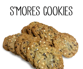 The best S'MORES Cookies