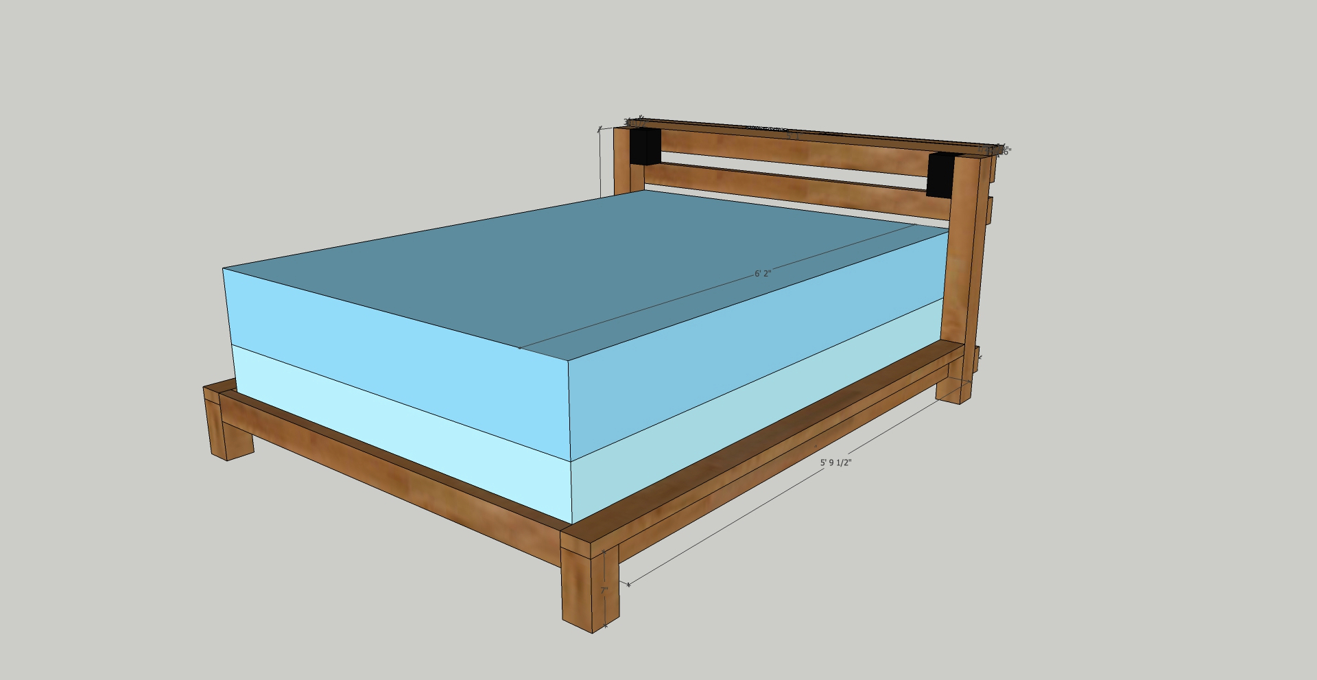 Picture of Custom Bed Frame