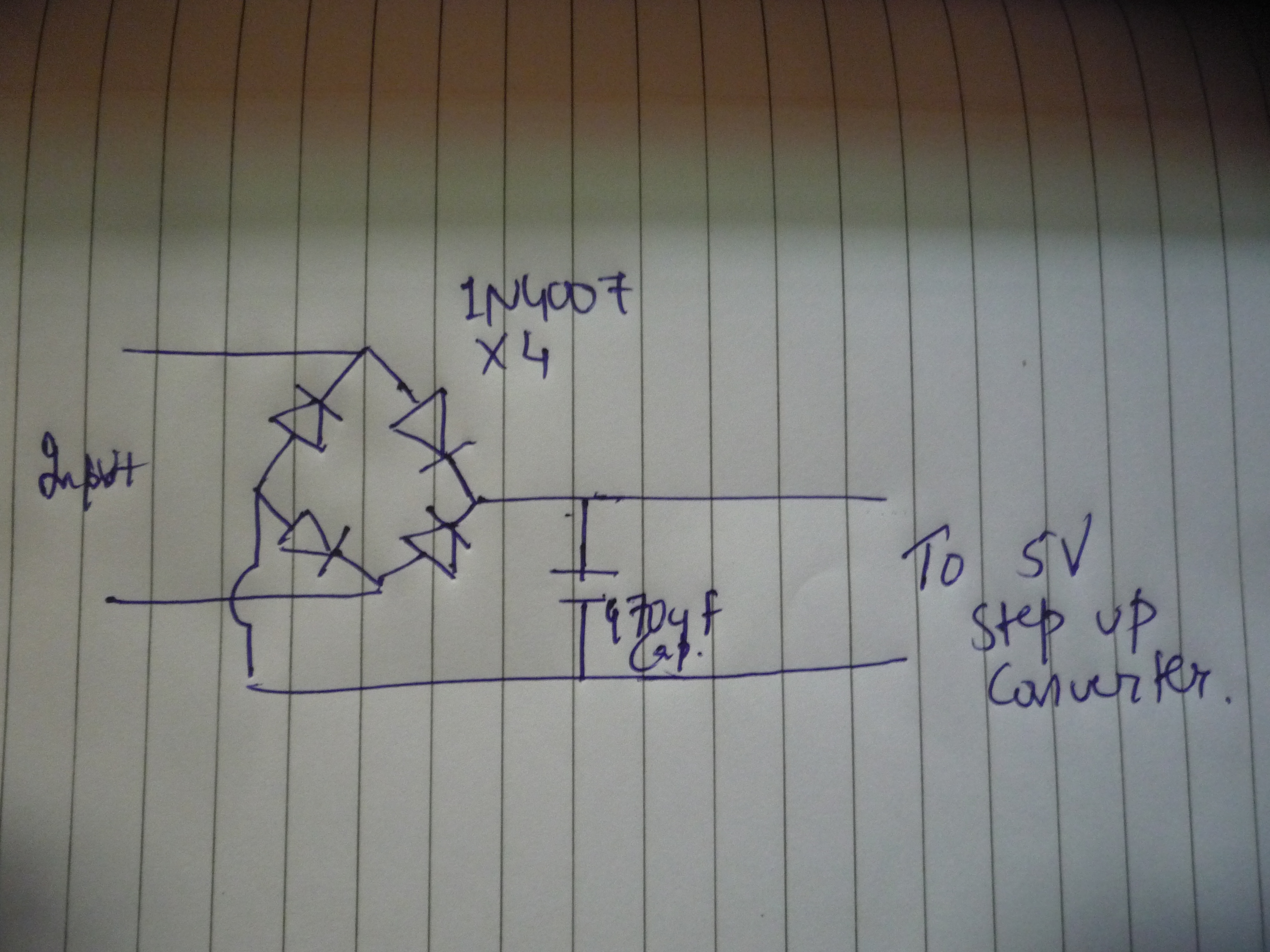 Picture of Creating the Circuit!