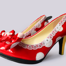 Minnie Mouse High Heel Shoes