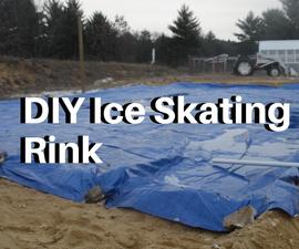 How to Make a BackYard Ice Skating Rink