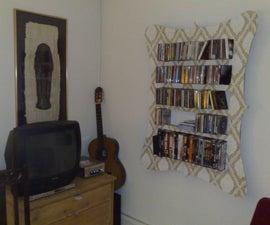 Cardboard CD rack