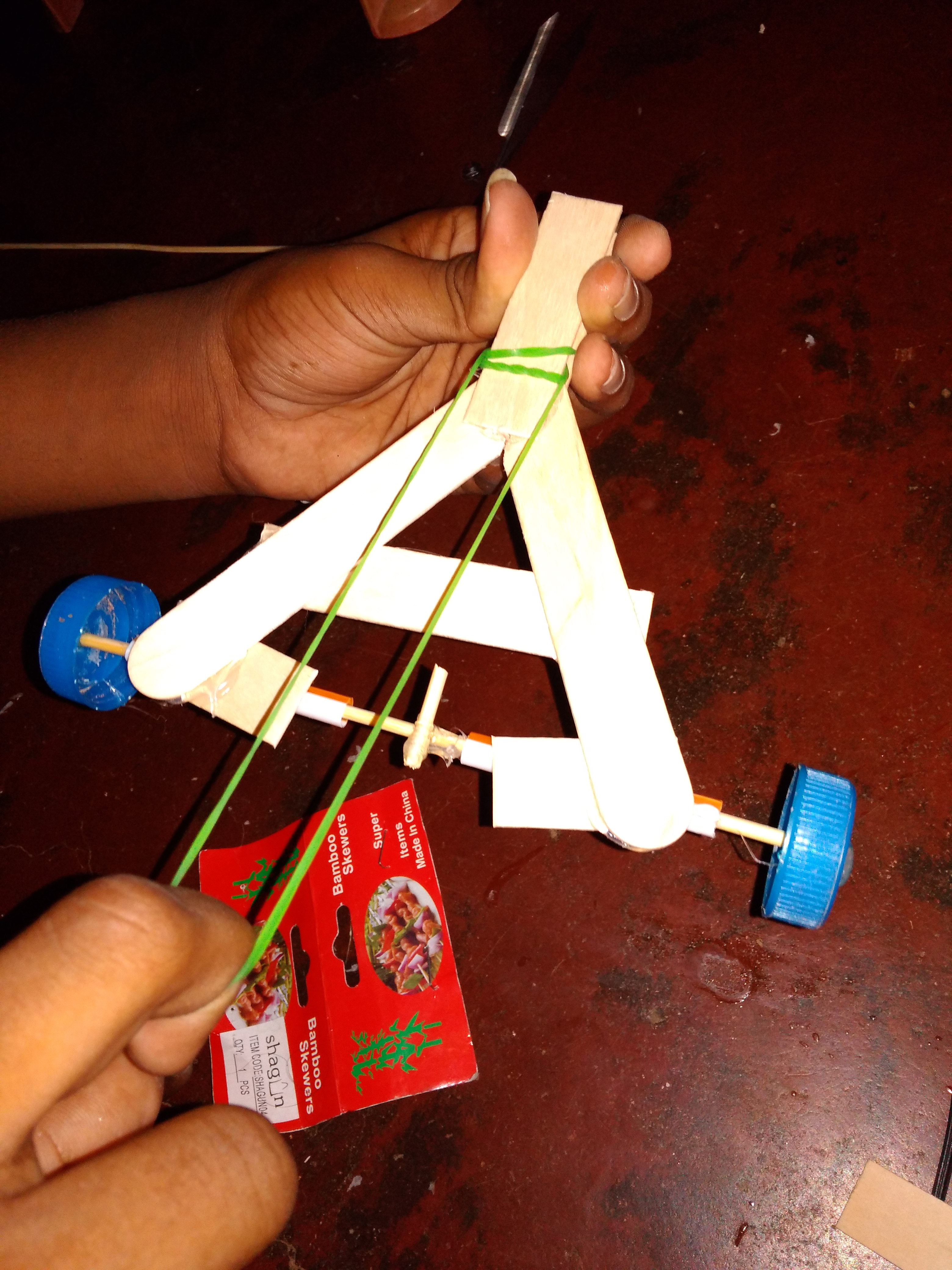 Picture of Add the Rubber Band