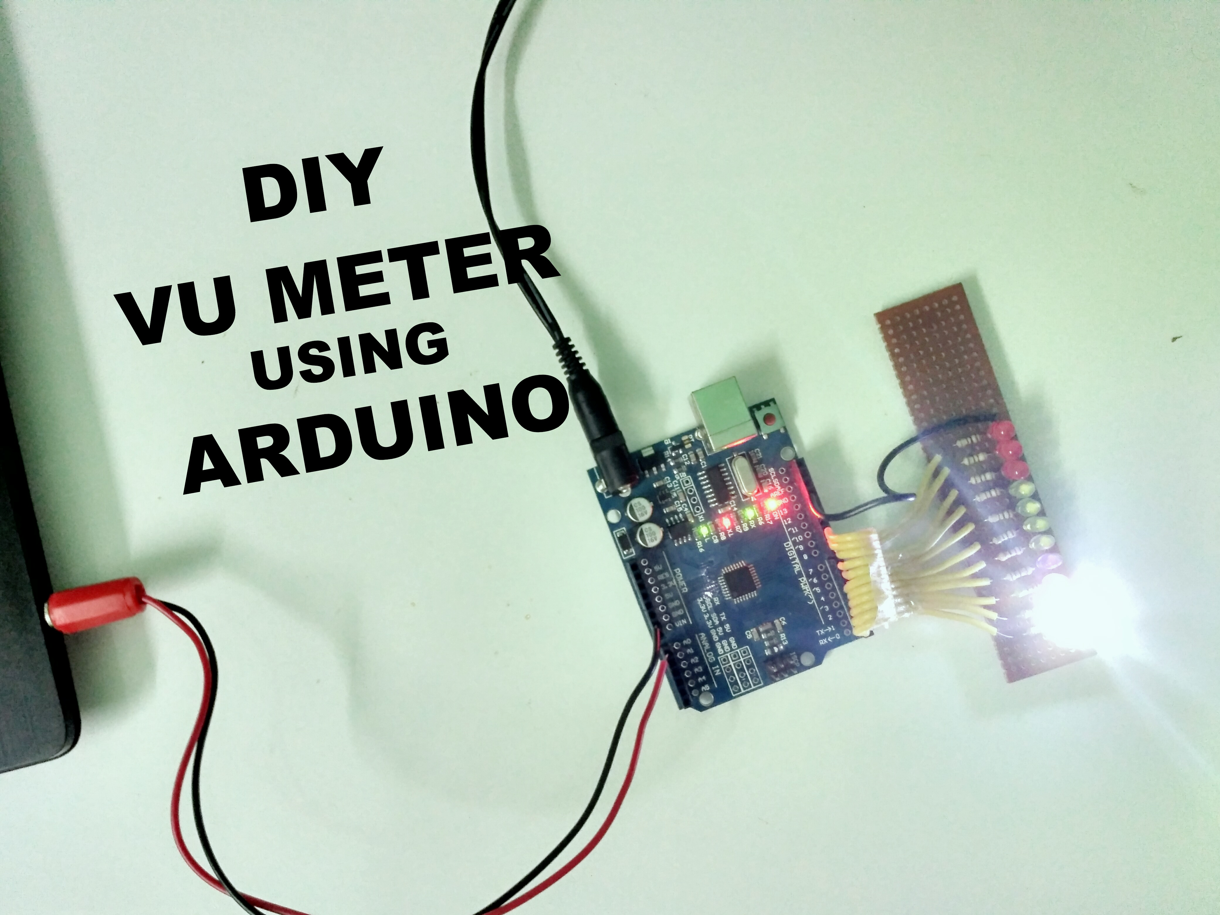 Picture of How to Make a VU Meter Using Arduino