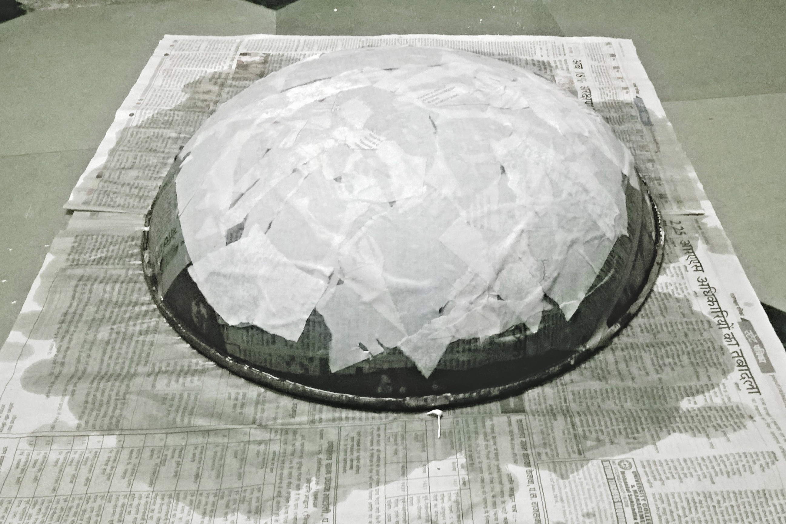 Picture of Making the Shield....