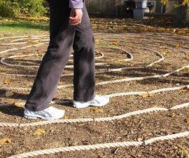 Build a Backyard Labyrinth