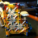 K'nex Jellybean Machine (My very own design)