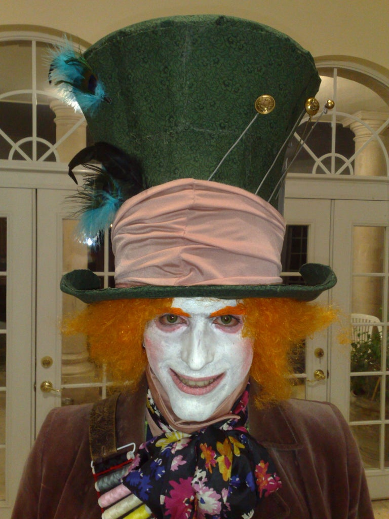 7f8fc2251 Burton's Mad Hatter Hat: 10 Steps (with Pictures)