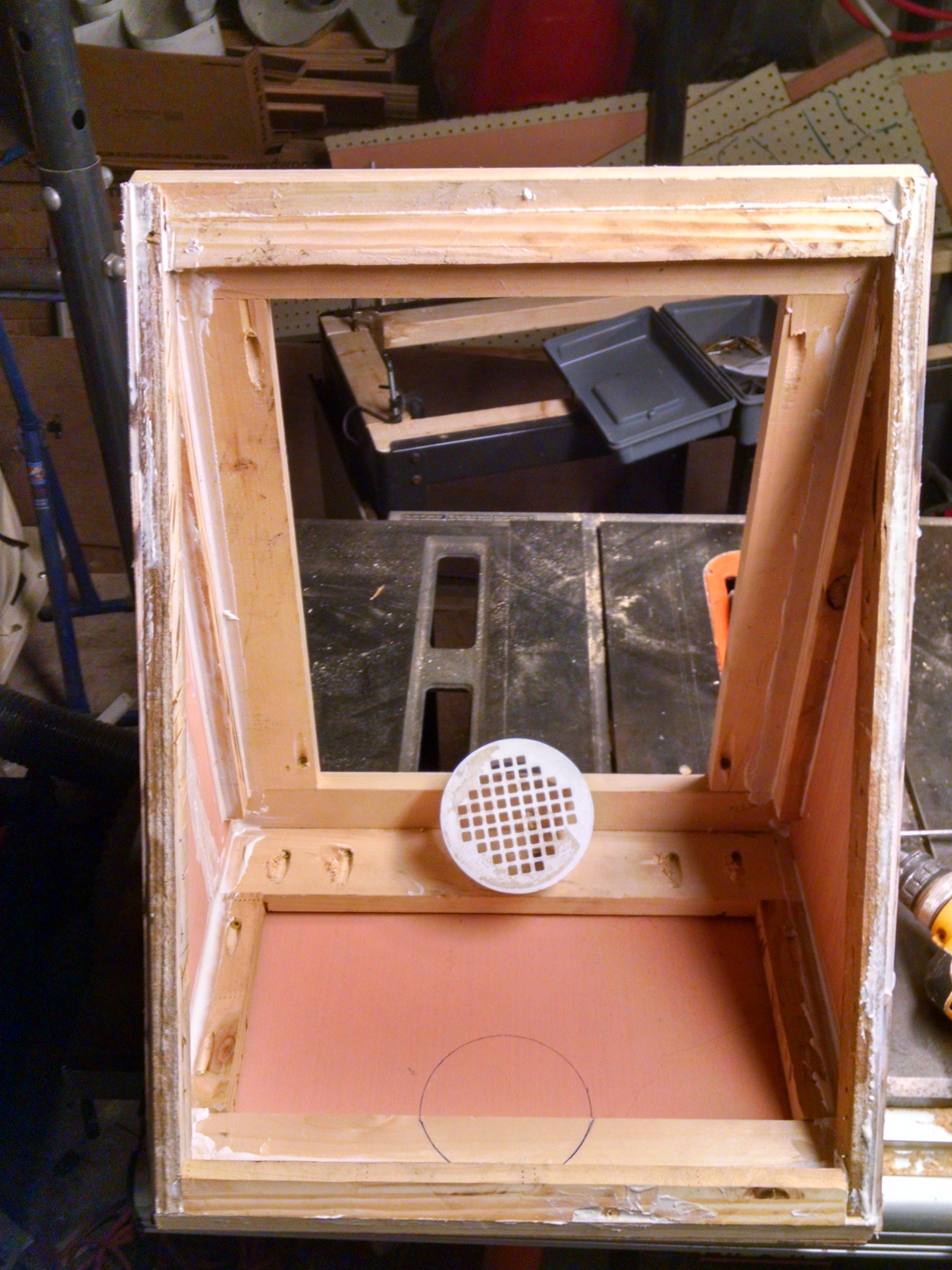 Picture of Table Saw Chute and Improvements.