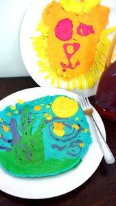 Abstract Pancake Art