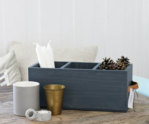 Recycled Wooden Box