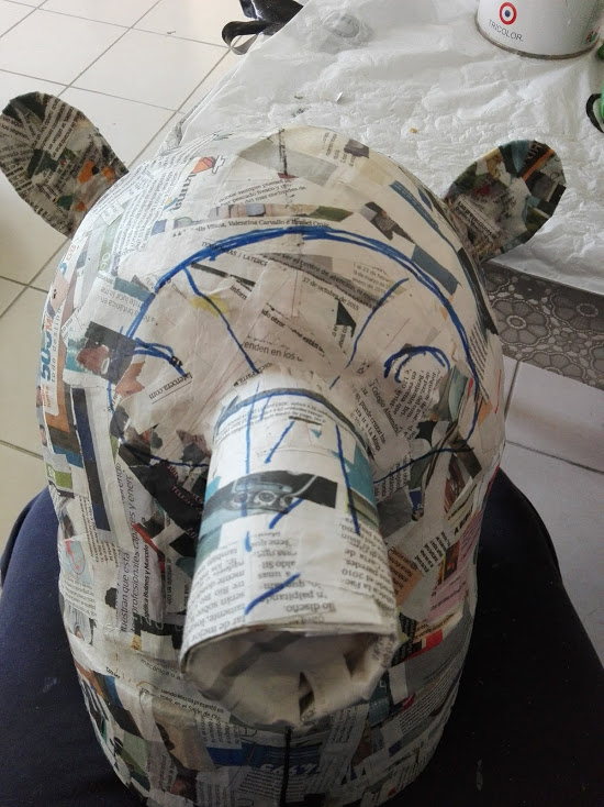 Picture of Shape It With Newspaper