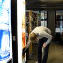 Sound-producing vending machine
