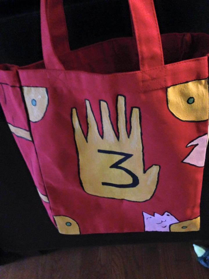 Picture of Gravity Falls Journal Tote Bag