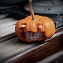 DIY Baby Monster Pumpkin