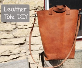 Leather Tote - DIY