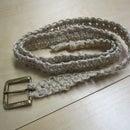 Make a Square Knot Hemp Belt