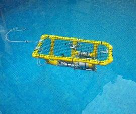 DIY PVC ROV underwater videobot