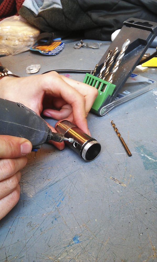 Picture of Disassemble + Drilling Holes