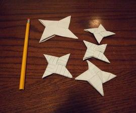 Best Mini Paper 4-Point Shurikan