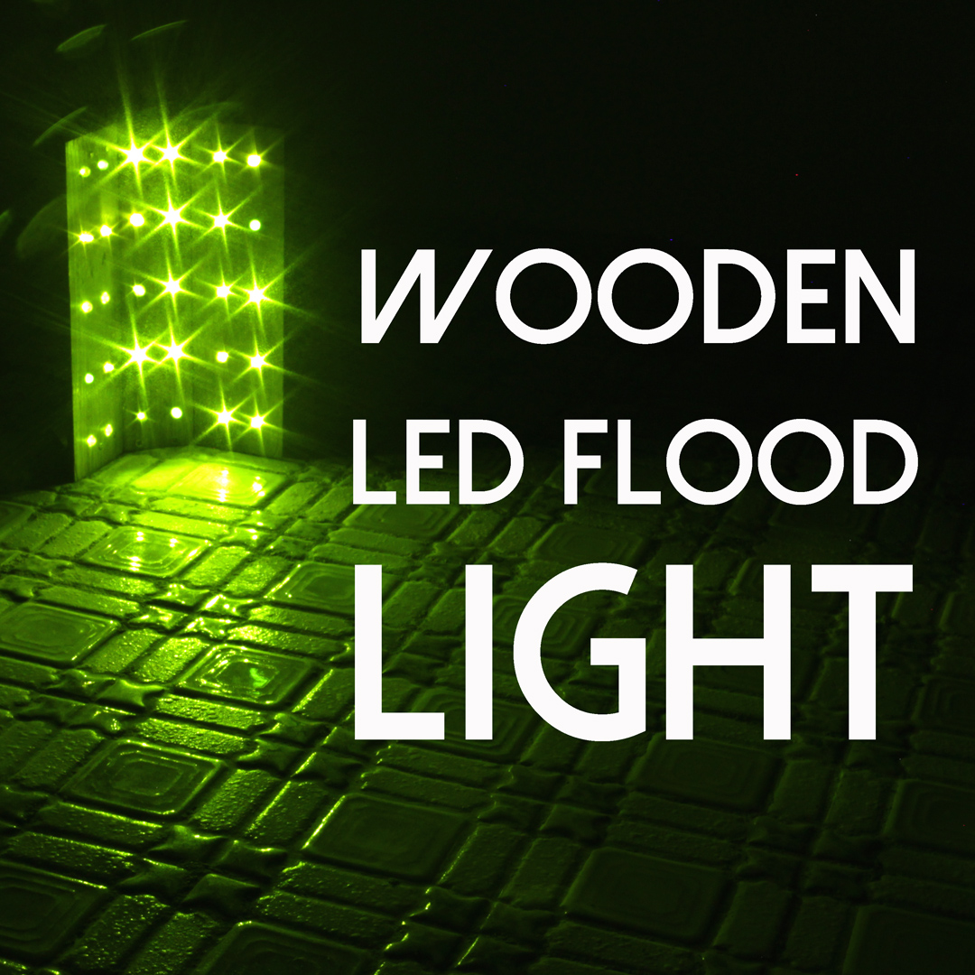 Picture of WOODEN LED FLOOD LIGHT