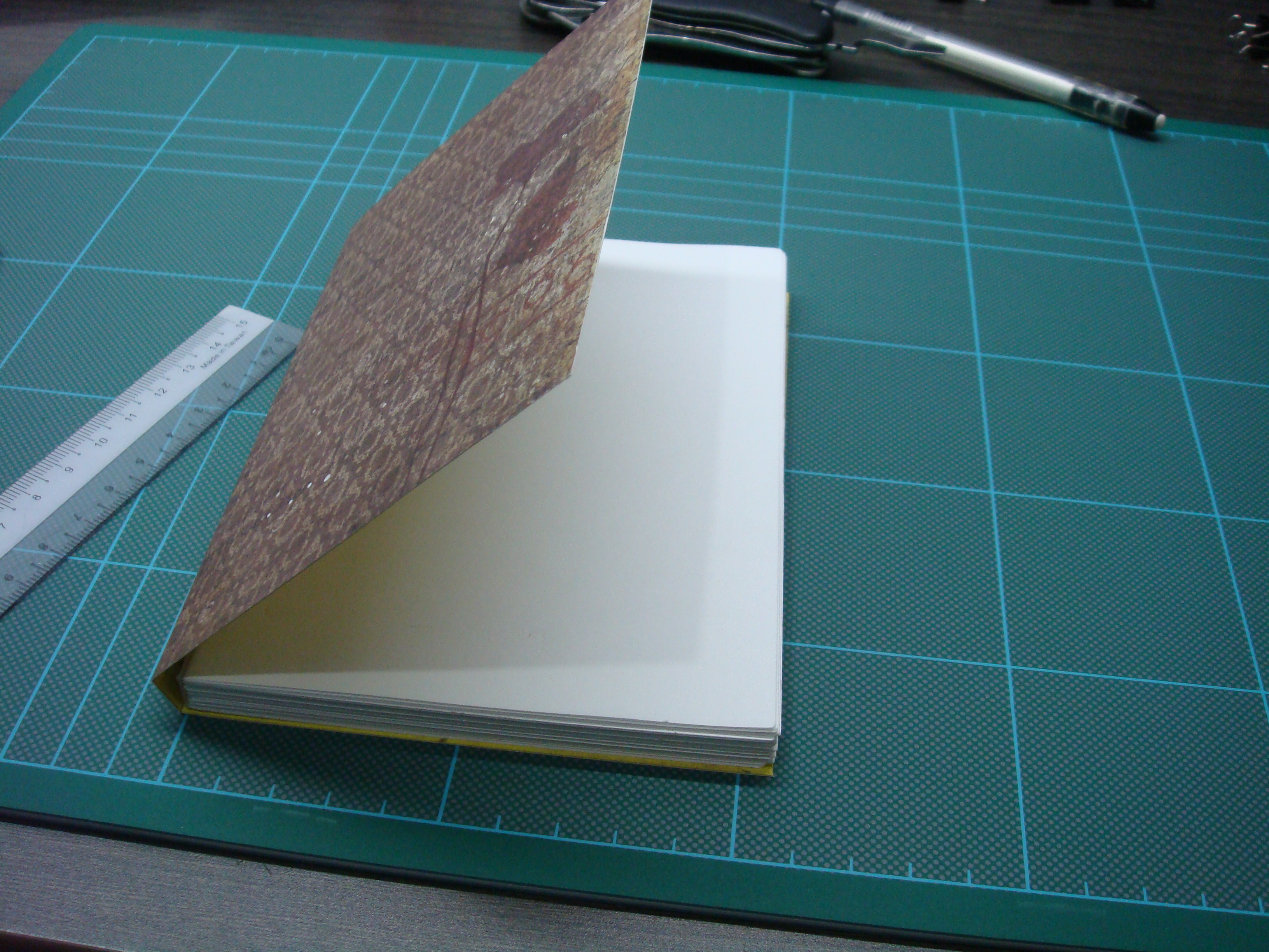 Picture of Cut Out Cover to Size and Fold It