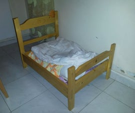 Wooden Kitty Bed (IKEA Doll Bed Inspired)