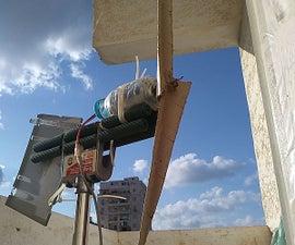 Make a Wind Turbine From a Cardboard Roll