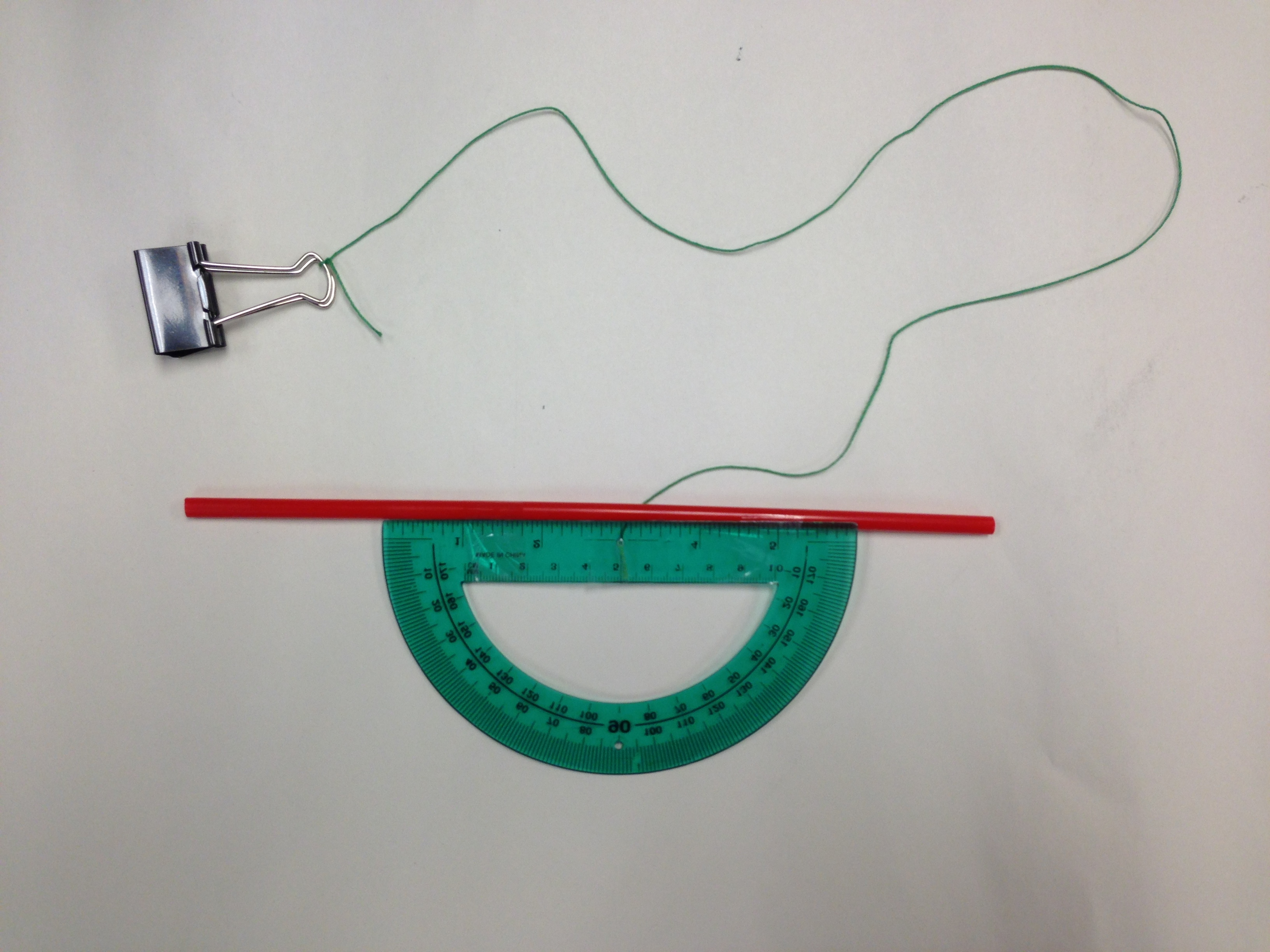 How to Make a Clinometer photo
