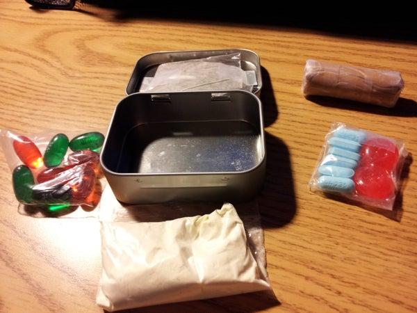 Cold Survival Kit - Sucrets Tin