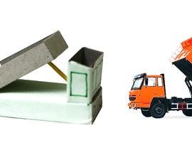 Dump Truck Toy using an ordinary matchbox