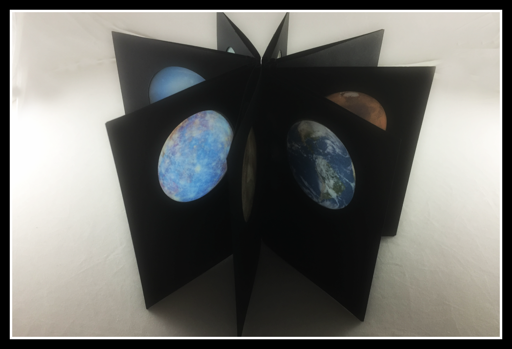 Picture of Planet Book With Stir Stick Binding