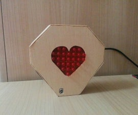 Led Matrix IR Controlled With Arduino for Saint Valentines's