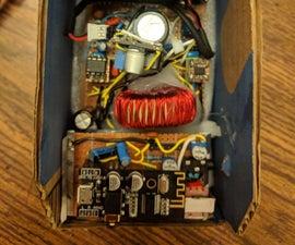 350 Watt Self Oscillating Class D Amplifier