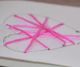 Web of Love (Heart Card)