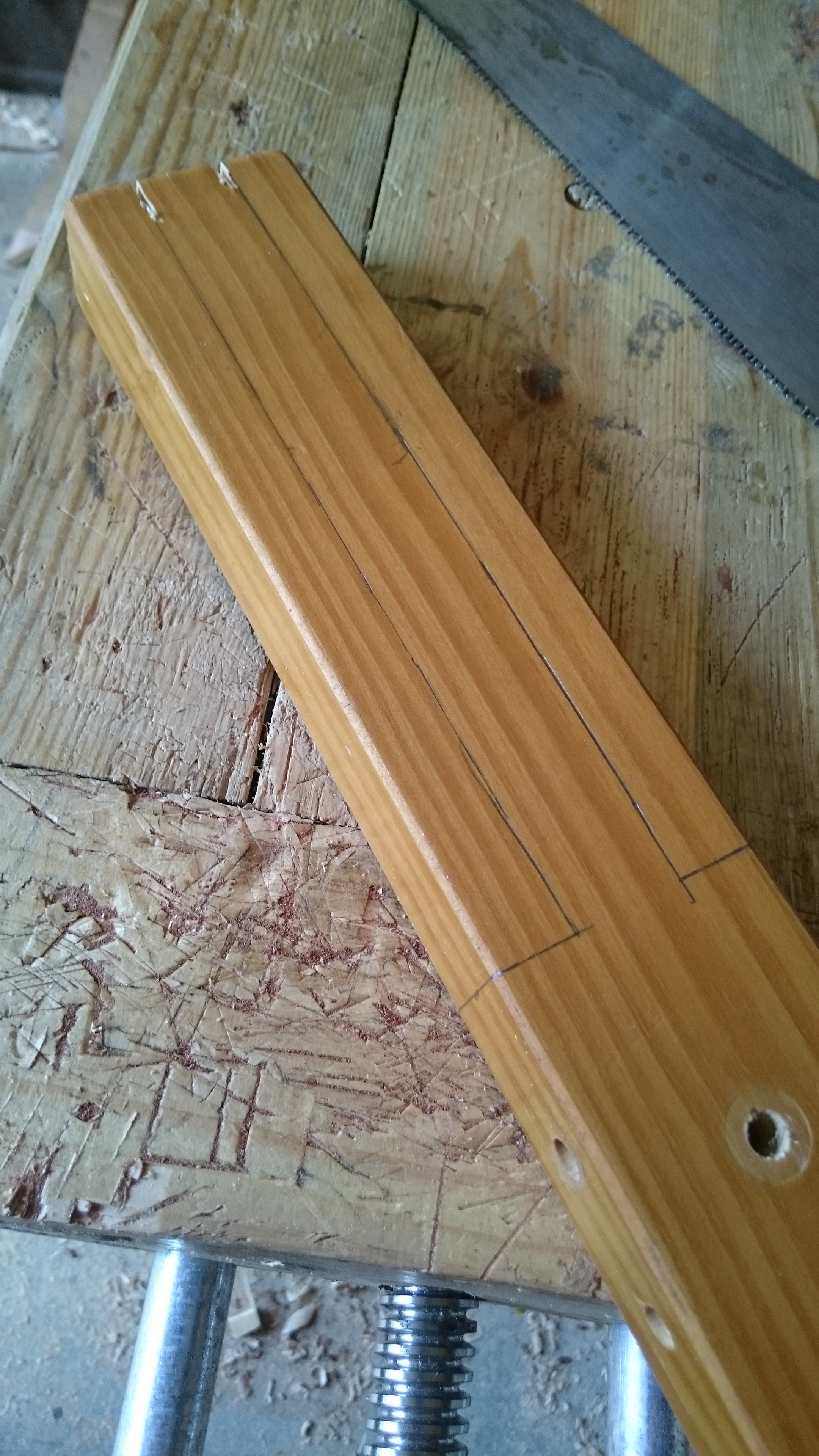 Picture of Cutting and Shaping the Latches