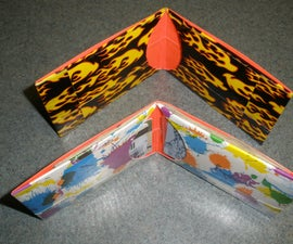 Thin Duct Tape Wallet