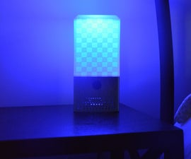 DIY Google Home + Lamp (3D Printed Smart Assistant Speaker)