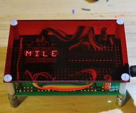 Arduino-Powered Four Letter Word Generator