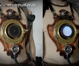Steampunk wearable Timemachine