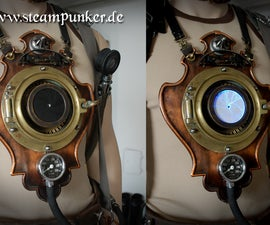 Steampunk wearable Timemachine