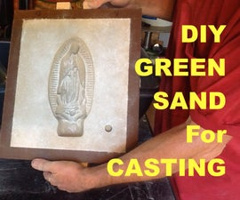 DIY Green Sand for Metal Casting