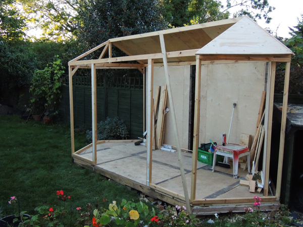 Picture of Building the Main Frame Carcase