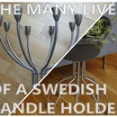 Candle Holder to Plant Stand: a Happy Ending
