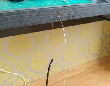 Add Audio Cable Extension to a Table