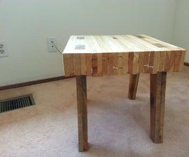 Scrap Pallet Table