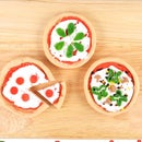Miniature Play-doh Pizzas