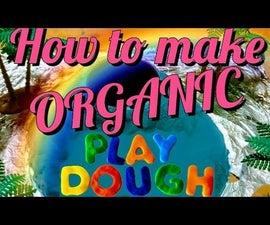 How to Make ORGANIC Play Dough
