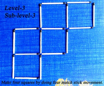 LEVEL  '3',   Sub-level  '3'
